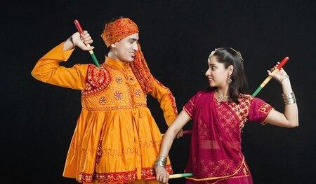 Indian Folk Dance - Group