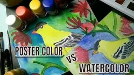 Poster Color Painting