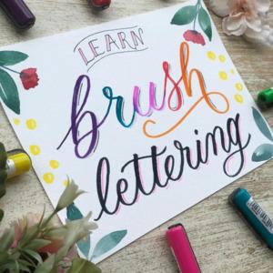 Brush Lettering Classes