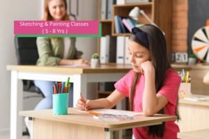 Sketching & Painting Classes ( 5 - 8 Yrs )