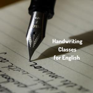 English handwriting classes