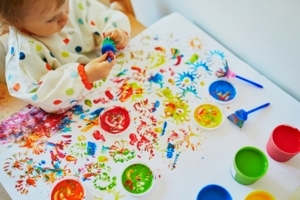 Magic on your Fingers - Finger Painting Workshop
