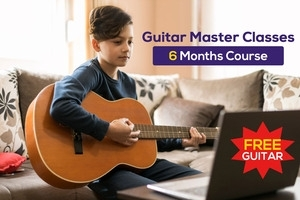 Guitar Master Classes  - 6 Months  + Free Guitar