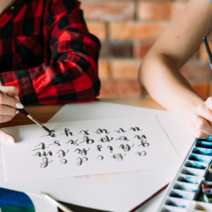 Hand Lettering Classes