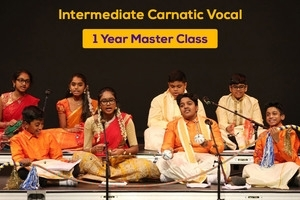 Intermediate Carnatic Vocal - 1 Year Masterclass