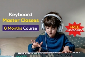 Keyboard Master Classes - 6 months + Free Keyboard