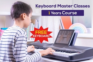 Keyboard Master Classes  - 1 Year + Free Keyboard