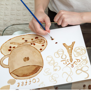 Coffee Painting  Classes