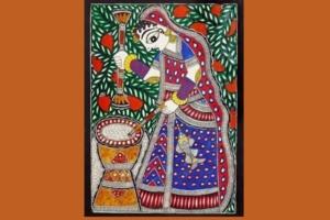 MadhuBani Art -  Basics Classes