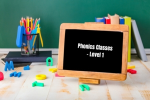 Basic Phonics Classes- Level 1