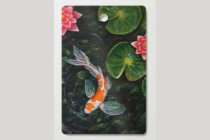 Sketching & Painting Workshop- Koi Fish Painting