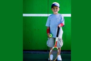 Tennis Coaching - Orange & Green Dot Ball